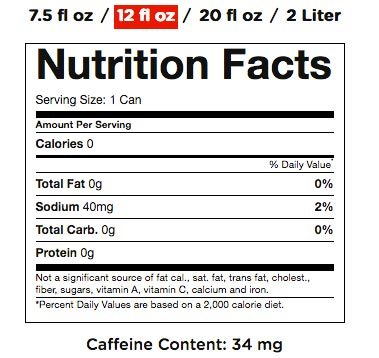Coke Zero Nutrition Pictures to Pin on Pinterest - PinsDaddy
