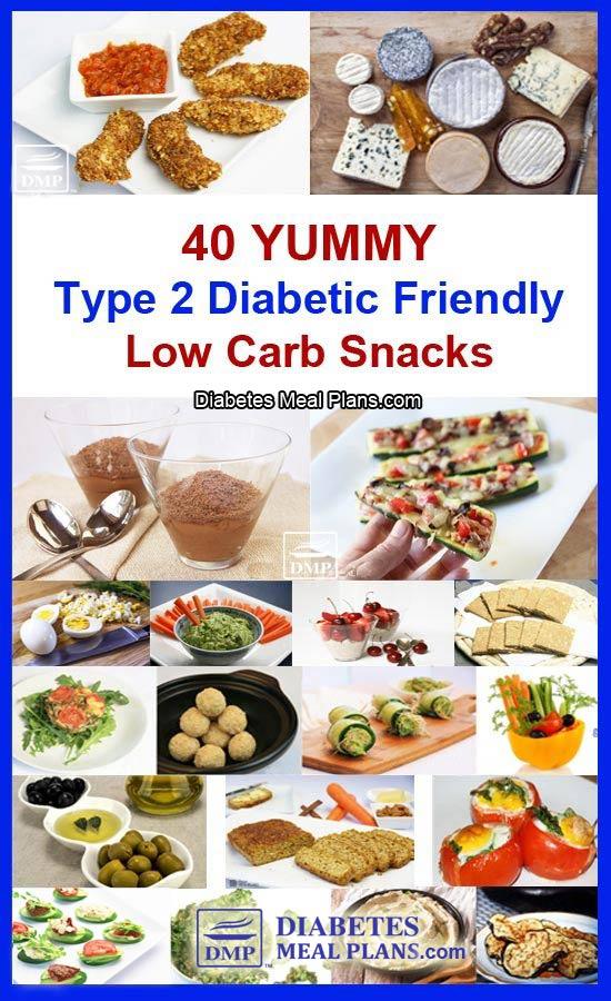 40 YUMMY low carb diabetic snacks