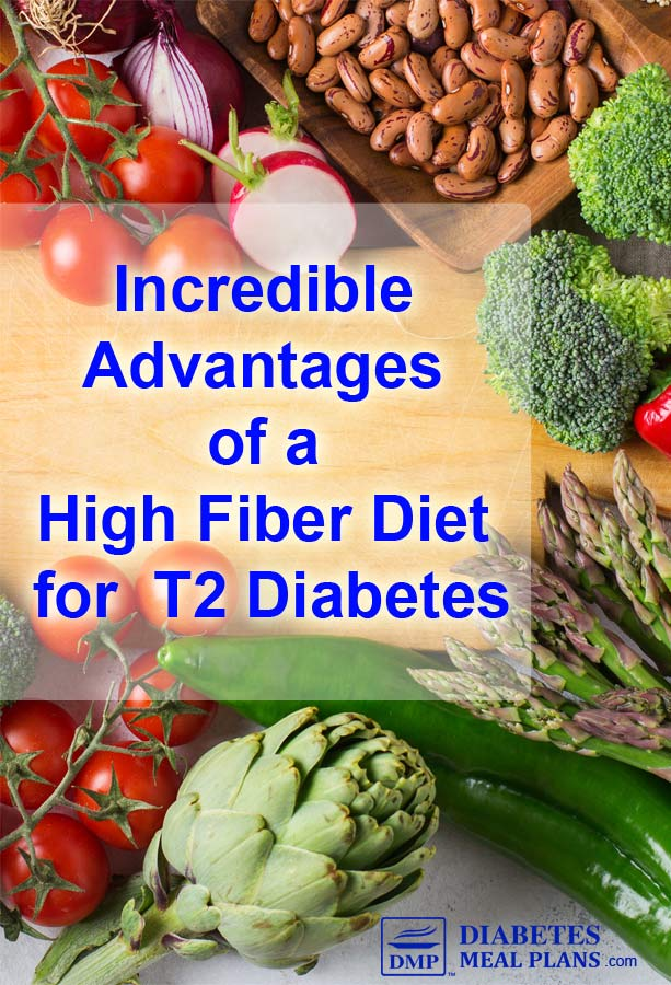 Incredible Advantages of a High Fiber Diet for Diabetes