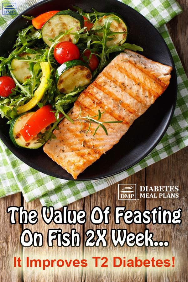 Fish and Diabetes: Feast 2X a Wk to Reap The Benefits
