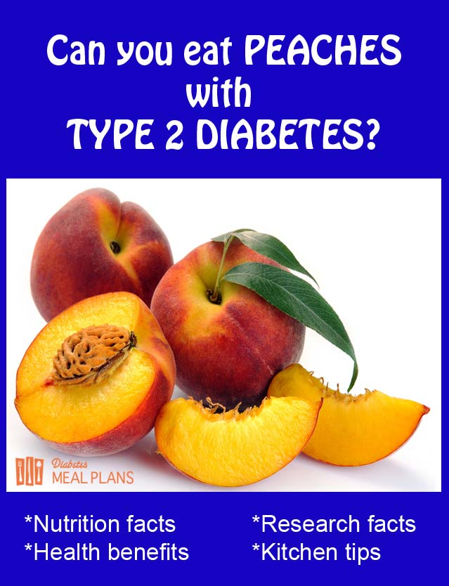 Peaches and Type 2 Diabetes