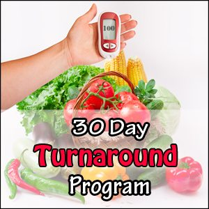 30 Day Turnaround Program | Diabetes Meal Plans
