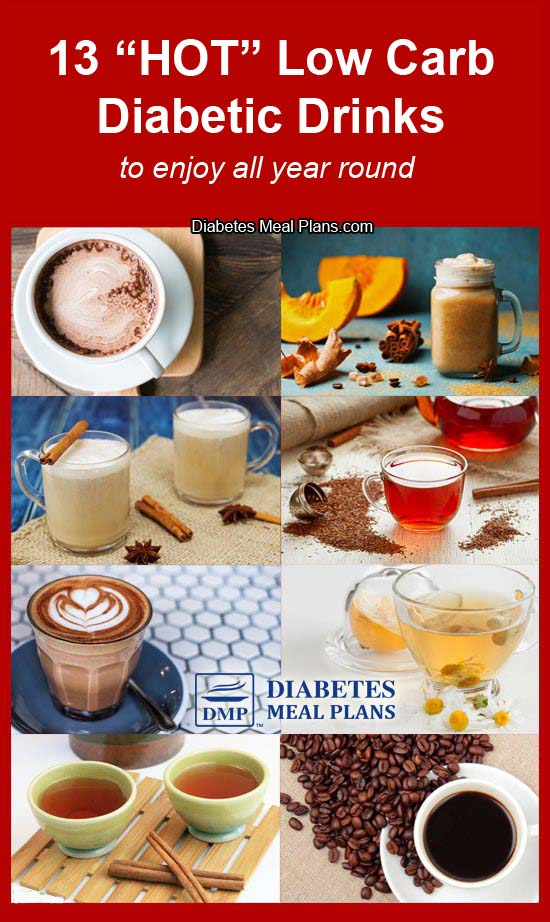 13 Hot Diabetic Drinks To Enjoy All Year Round - best of all they are low carb and won't send your blood sugar soaring!