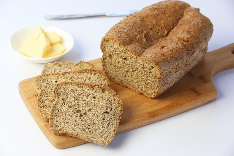 Low Carb Wholemeal Bread