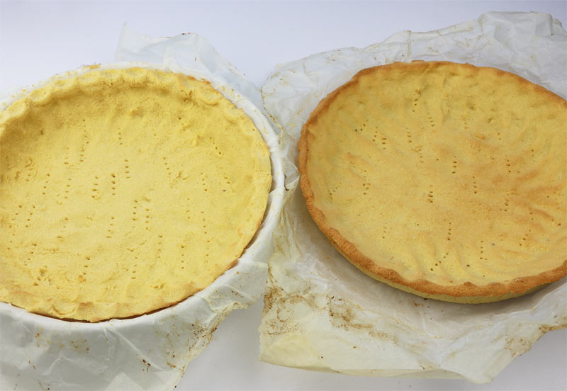 Dual Diabetic Pie Crusts