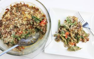 Easy Diabetic Friendly Low Carb Green Bean Casserole Recipe