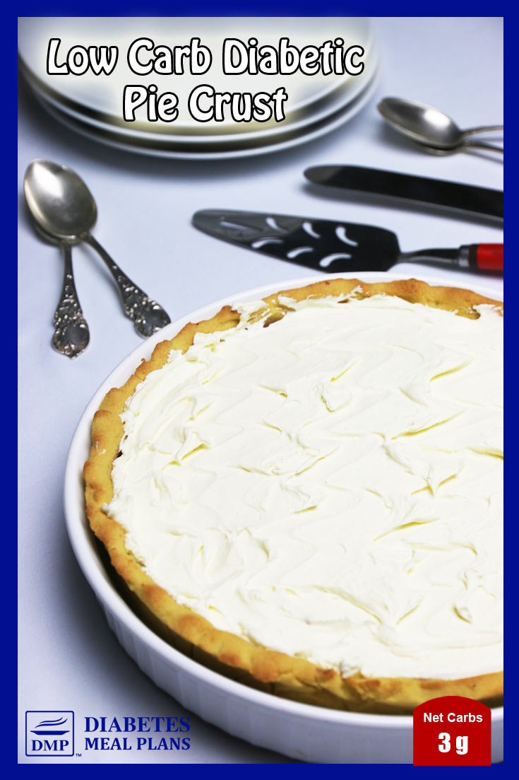 Low Carb Diabetic Pie Crust - awesome for all your sweet pies!