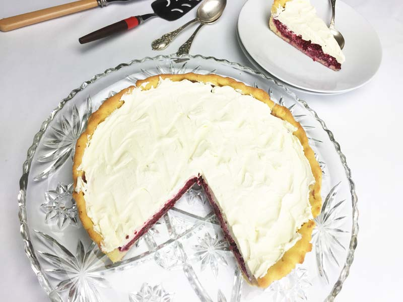 Raspberry Cream Pie | Diabetes Meal Plans