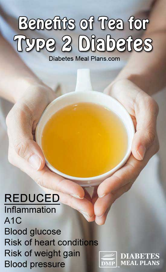 tea benefits and type 2 diabetes