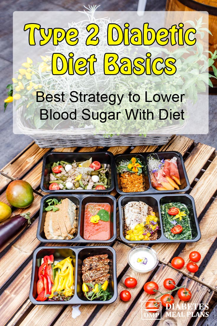 Diabetic Diet Basics: The Best Strategy To Lower Blood Sugar With Diet