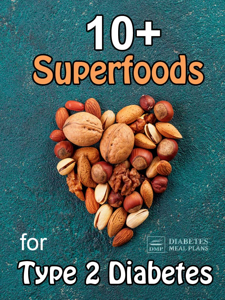 Check out these superfoods for type 2 diabetes - awesome goodness!
