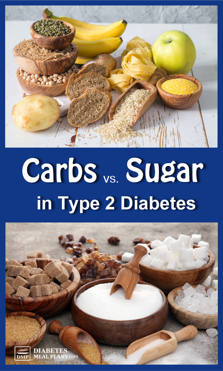 Carbs vs Sugar for Type 2 Diabetes