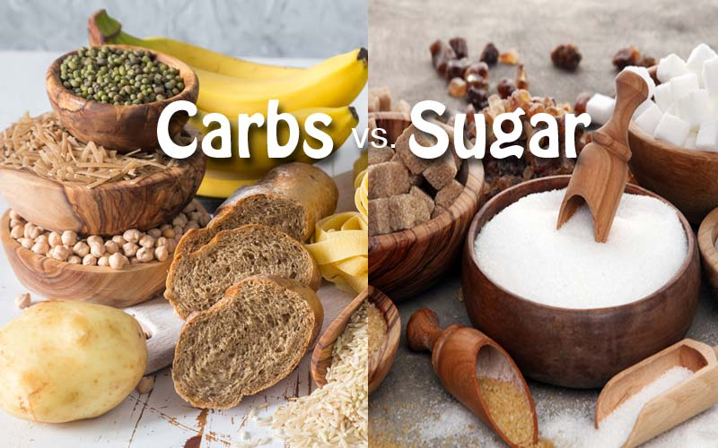 Carbs vs Sugar