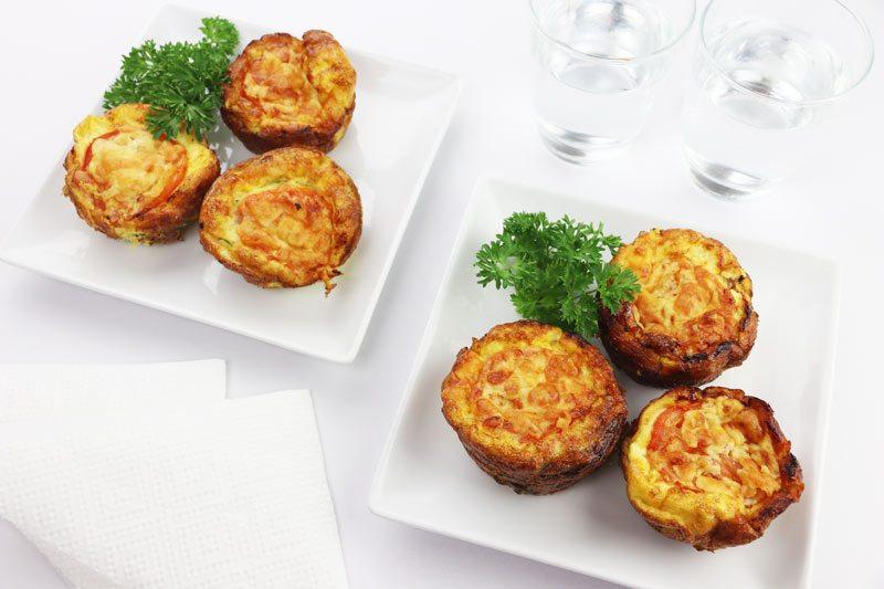 Cheesy Egg & Ham Muffins | ©DMP