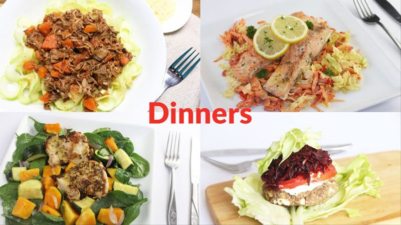 Featured Diabetic Dinners: Week of 4-30-18