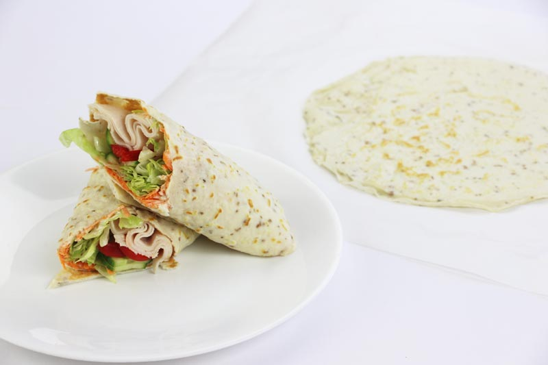 Low Carb Wrap Bread | ©DMP