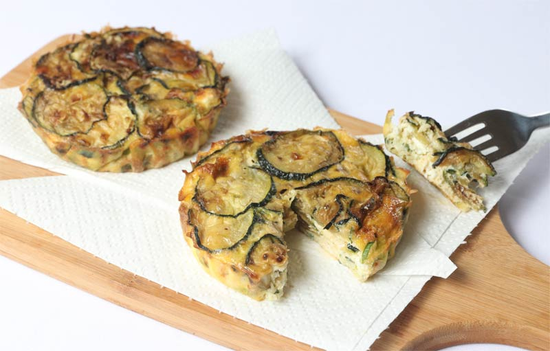 Crustless Zucchini Quiche | ©DMP