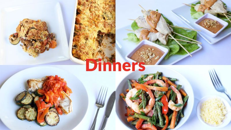 Featured Diabetic Dinners: Week of 6/4/18