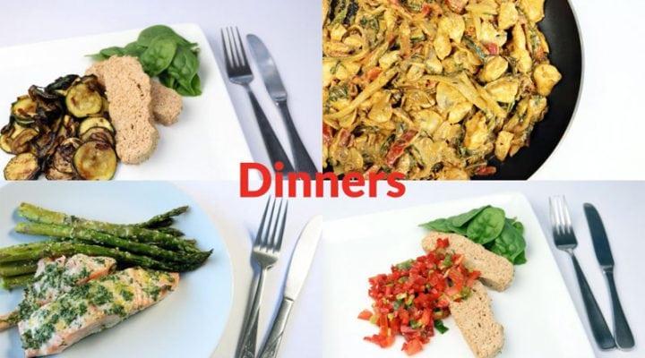 Diabetes Meal Plan: Week of 8/20/18