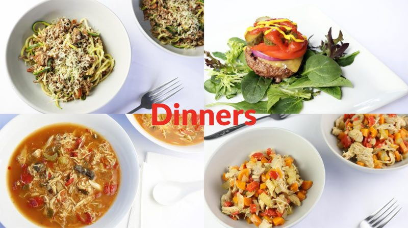 Featured diabetic dinners: week of 6-18-18