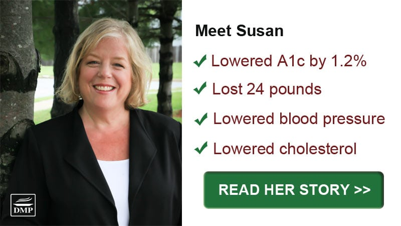 Meet Susan: A Diabetes Meal Plan Success Story