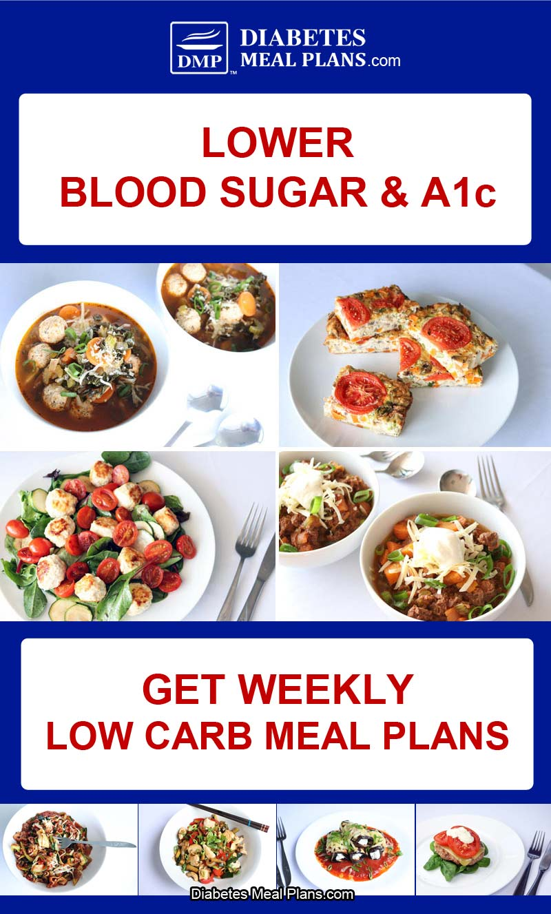 Diabetic Meal Plan Preview: Week of 10-15-18