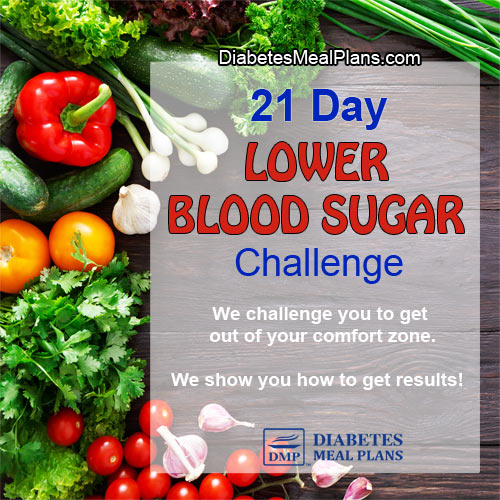 21 Day Lower Blood Sugar Challenge | ©DMP