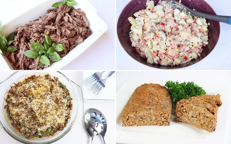 Featured Diabetic Meals: Week of 12-24-18