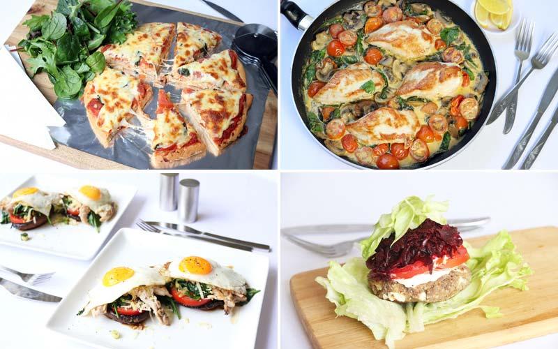 Featured Diabetic Dinners: Week of 12-31-18