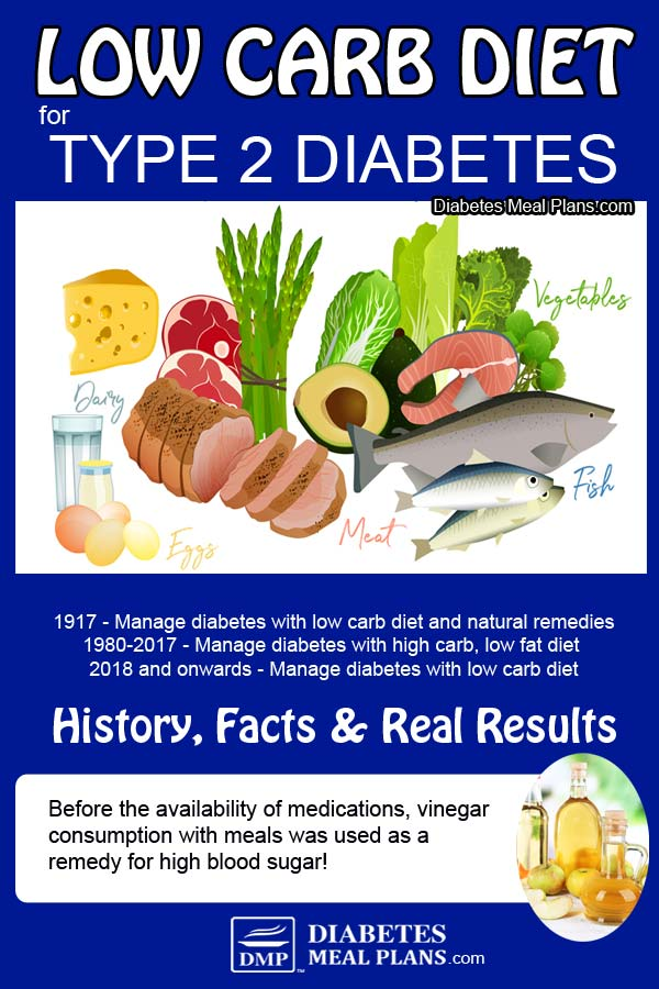 Low Carb Diet with Diabetes: History, Facts & Real Results