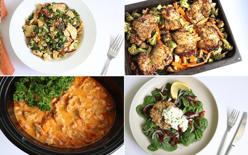 Featured diabetic meals: Week of 2-25-19