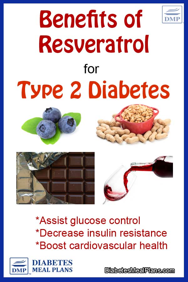 Benefits of resveratrol for diabetes