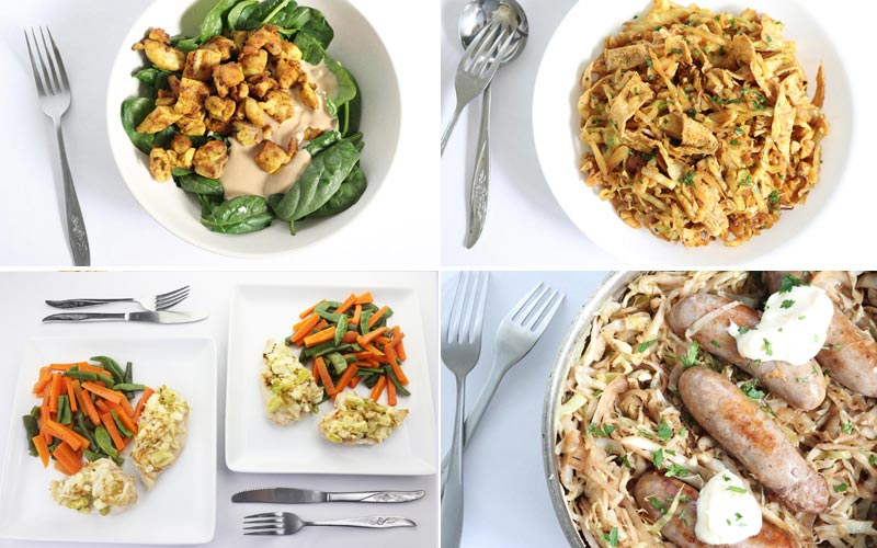 Featured diabetic meals: Week of 4-29-19