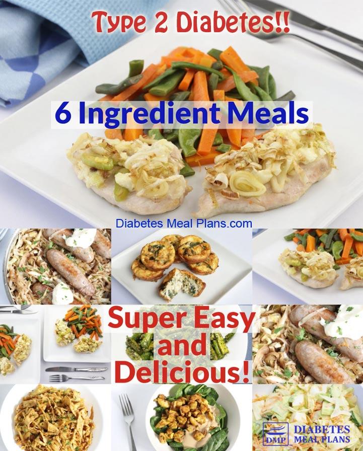 Low Carb Diabetic Meal Plan: Menu Week of 4/29/19
