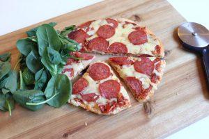 Pepperoni Pizza: Diabetes Friendly