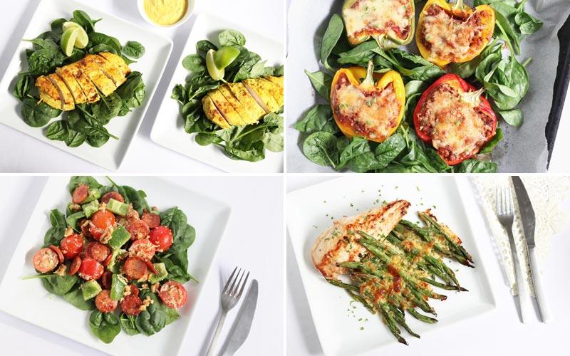 Featured diabetes meals week of 7-8-19