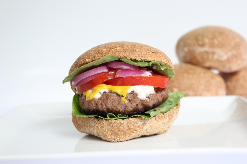 Hamburger w/ Low Carb Bun ©DMP
