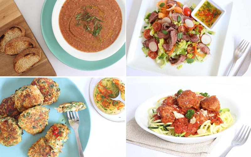 Diabetes Meal Plan: Menu Week of 10/26/20