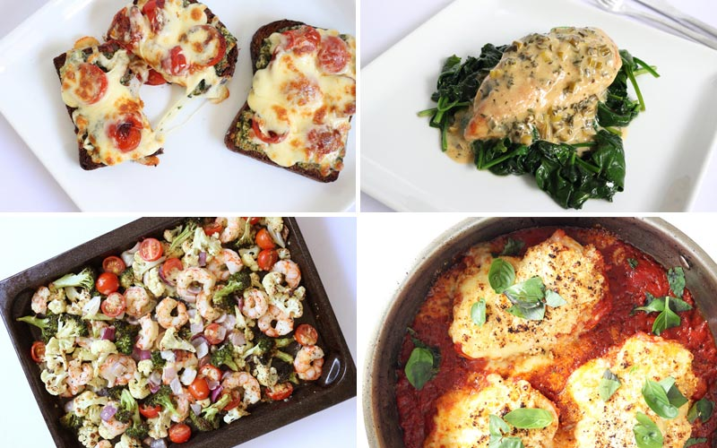 Featured Diabetes Meals - Inspired by Chef Giada de Laurentiis