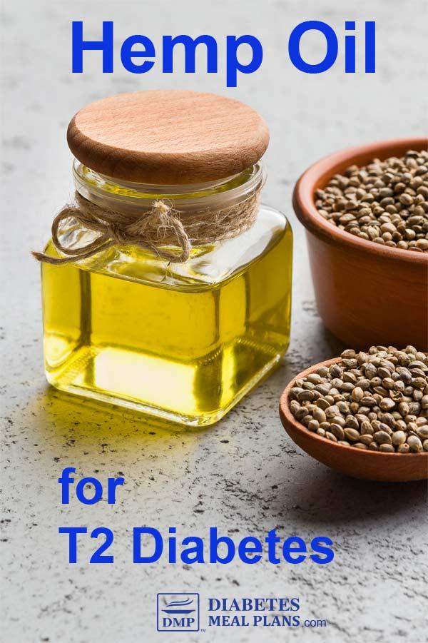 Hemp oil for T2 Diabetes