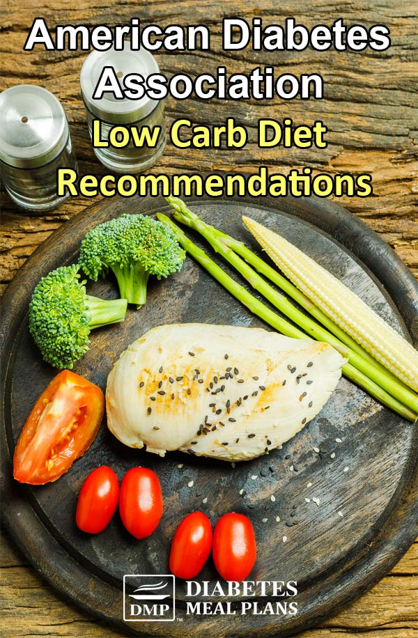 Let's talk about ADA low carb diet recommendations