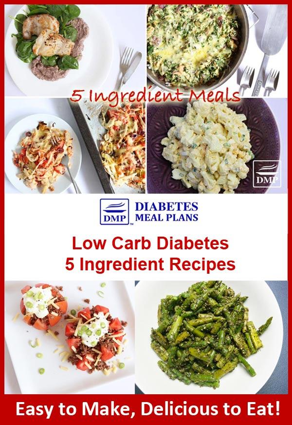 5 ingredient low carb diabetes recipes