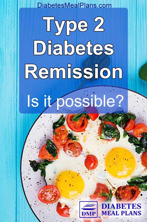 Type 2 diabetes remission